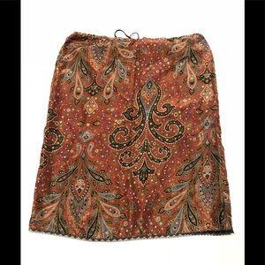🍬 Poleci 100 % silk made in USA skirt 8